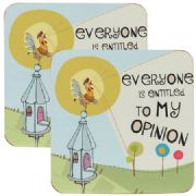 Good Life 'My Opinion' Coasters